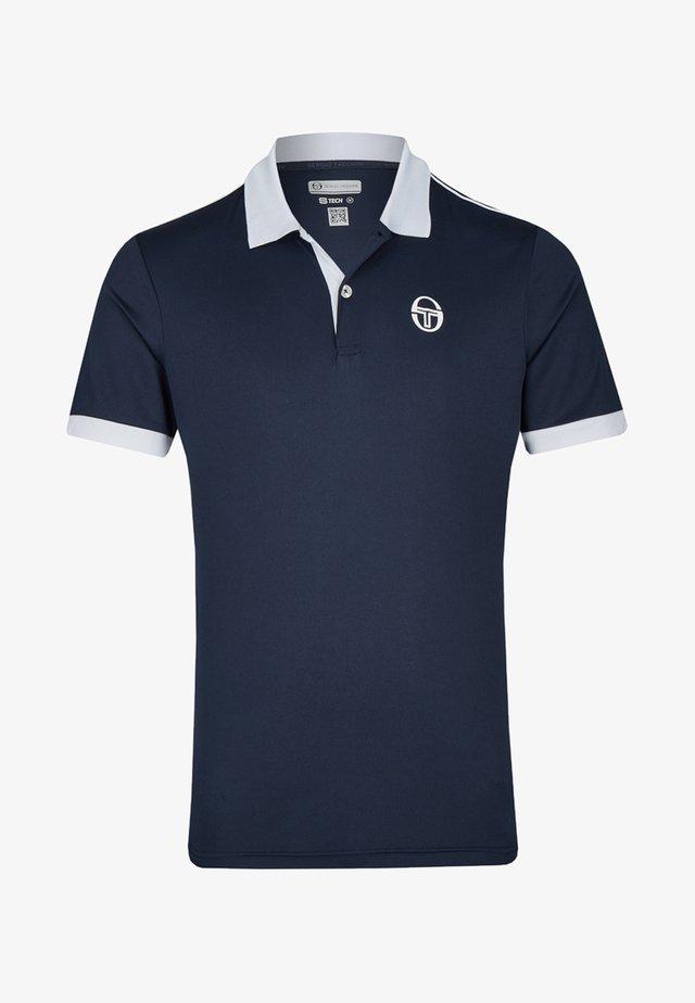 CLUB TECH - Polo shirt - dark blue