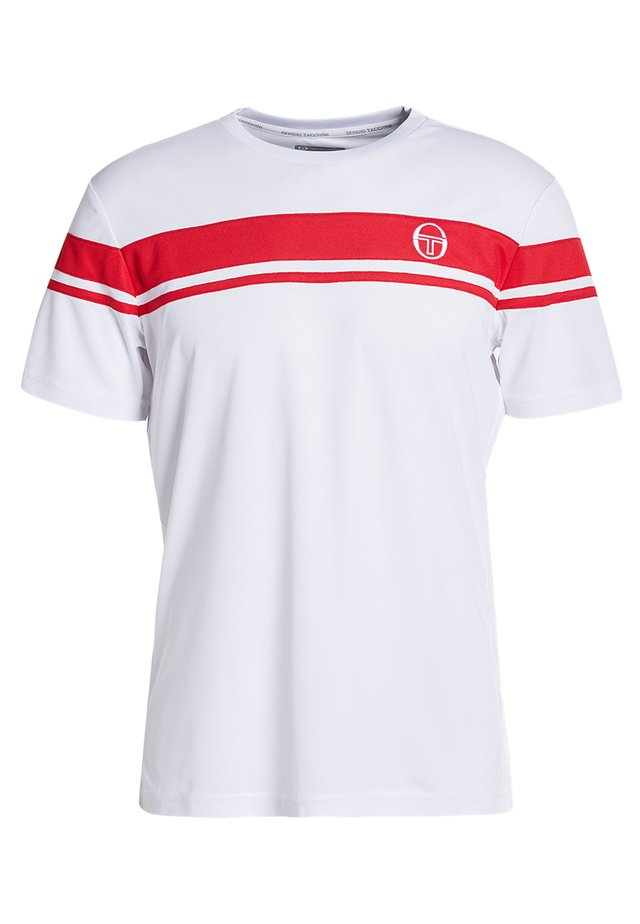 YOUNG LINE PRO T-SHIRT - Print T-shirt - red/white