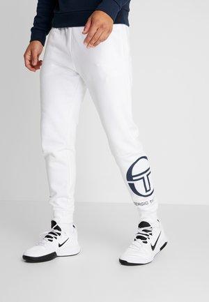 ITZAL PANTS - Tracksuit bottoms - white/navy