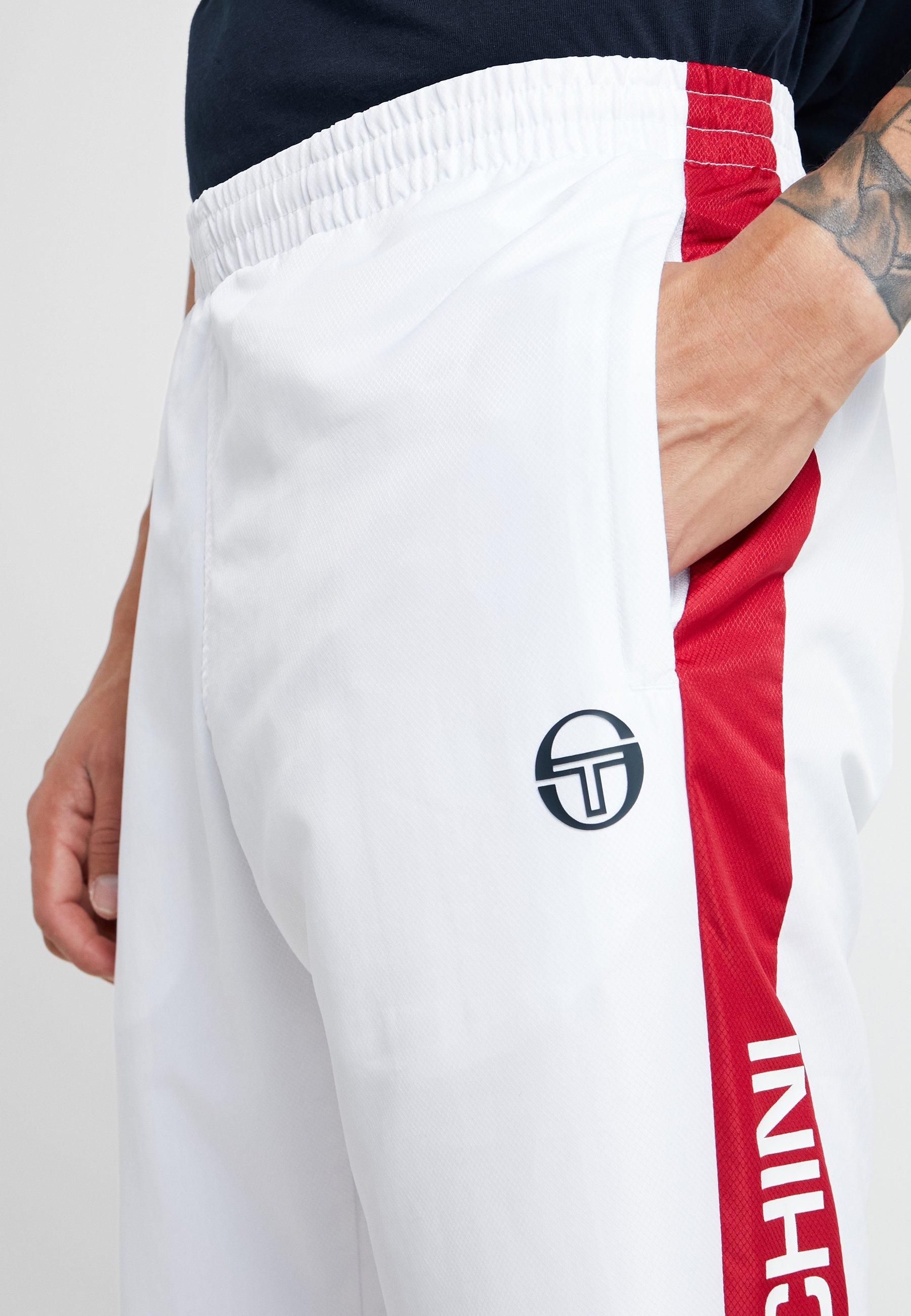 Sportivi Sergio red PantsPantaloni White Tacchini Deane FT1uK5clJ3