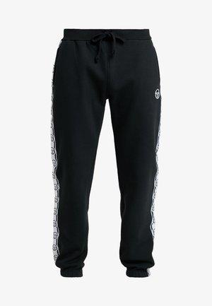 DEKLE PANTS - Tracksuit bottoms - black/white