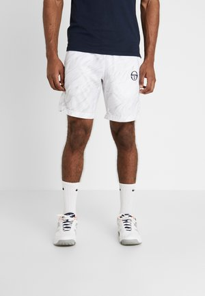 LIQUIFY SHORTS - Träningsshorts - white/navy/wild orchid