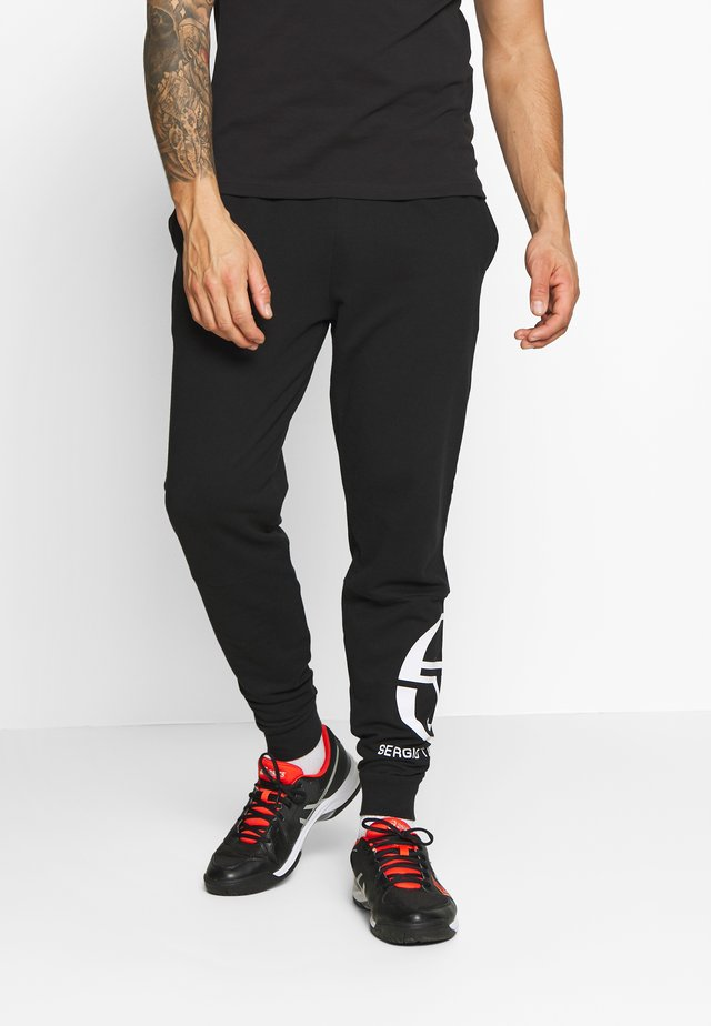 CHALMERS PANTS - Joggebukse - black/white