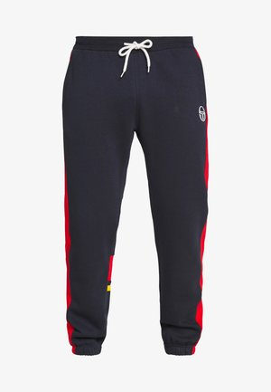 FIROZ - Trainingsbroek - navy/vintage red