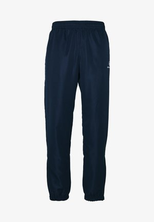 CARSON SLIM PANTS - Trainingsbroek - navy/white