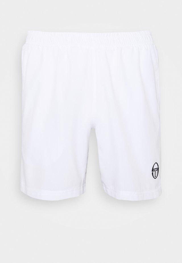 YOUNG LINE PRO SHORTS - kurze Sporthose - white/navy
