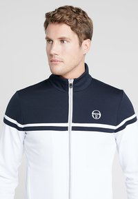 sergio tacchini - YOUNG LINE PRO TRACKTOP - Training jacket - white/navy - 5