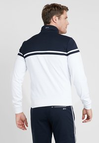 sergio tacchini - YOUNG LINE PRO TRACKTOP - Training jacket - white/navy - 2