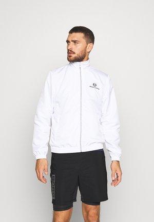 CARSON TRACKTOP - Veste de survêtement - white/navy