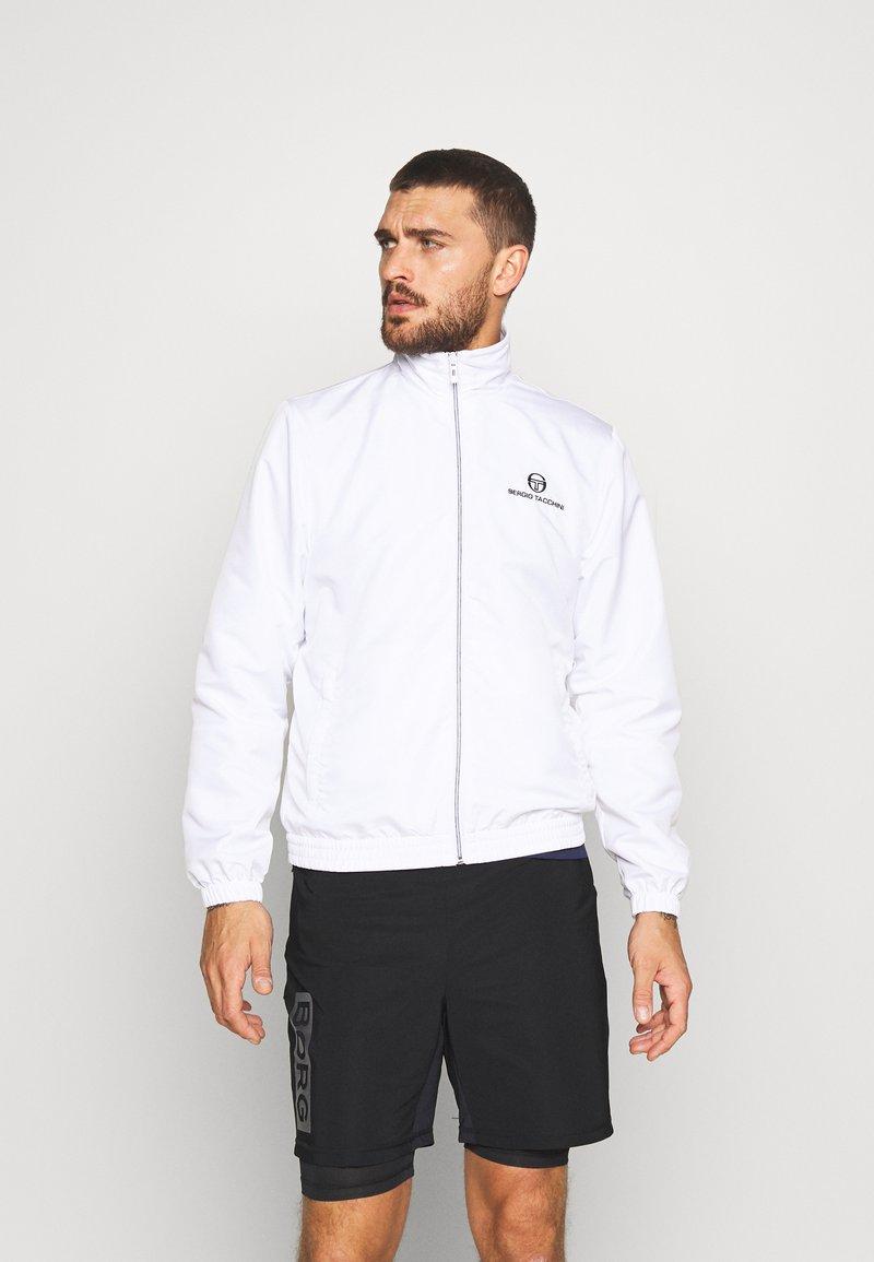sergio tacchini - CARSON TRACKTOP - Training jacket - white/navy