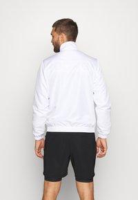 sergio tacchini - CARSON TRACKTOP - Training jacket - white/navy - 2