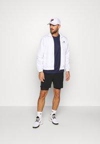 sergio tacchini - CARSON TRACKTOP - Training jacket - white/navy - 1