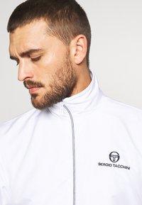 sergio tacchini - CARSON TRACKTOP - Training jacket - white/navy - 3