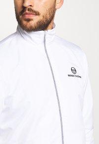 sergio tacchini - CARSON TRACKTOP - Training jacket - white/navy - 5