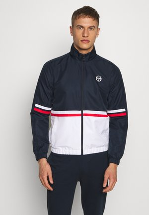 FELIX TRACKTOP - Veste de survêtement - navy/white/vintage red