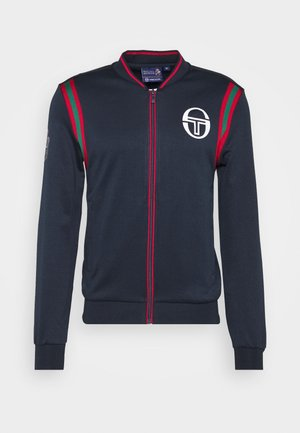 FLEET MC STAFF TRACKTOP - Sportovní bunda - navy/apple red