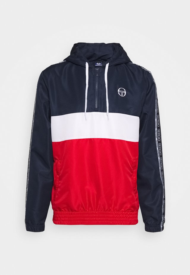 BELUSHI TRACKTOP - Giacca sportiva - navy/red