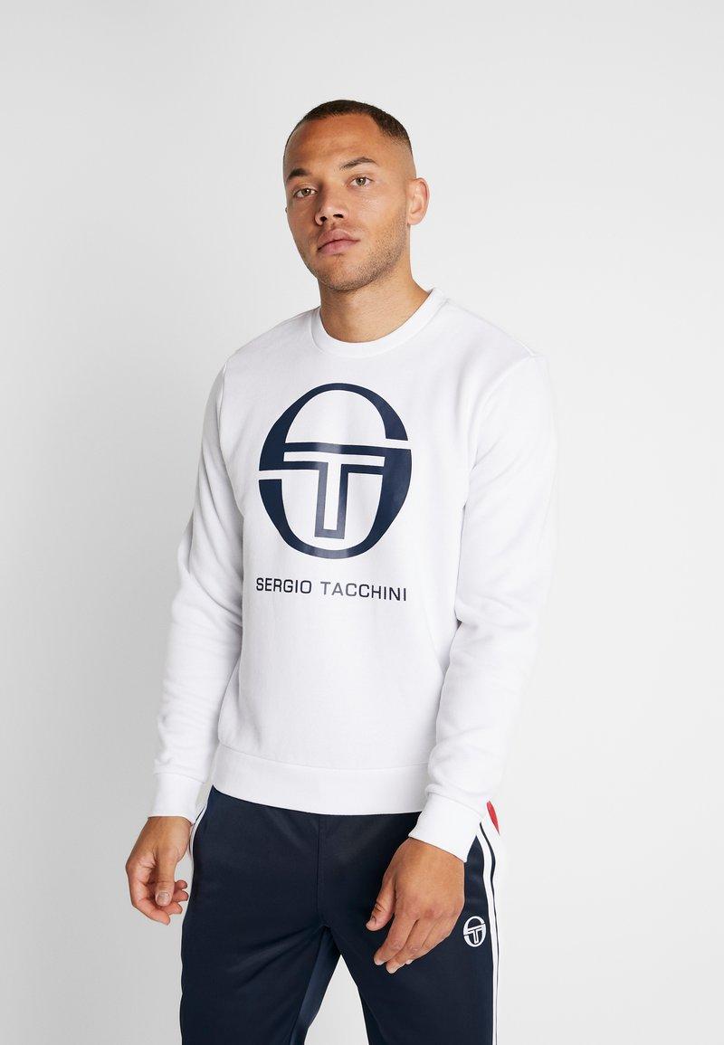 sergio tacchini - ZELDA - Sweatshirt - white/navy