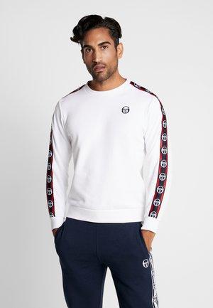 DELACO SWEATER - Sweatshirt - white/navy