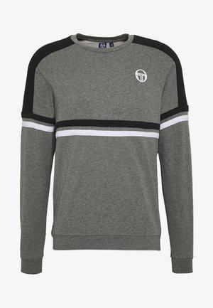 FRANK SWEATER - Sweatshirt - dark grey mel/black