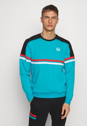 FRANK SWEATER - Sudadera - bluebird/black