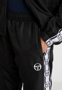 sergio tacchini - DORAL TRACKSUIT SET  - Trainingsanzug - black - 7