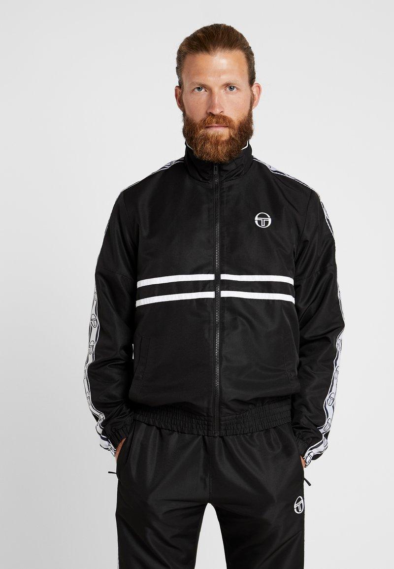sergio tacchini - DORAL TRACKSUIT SET  - Trainingsanzug - black