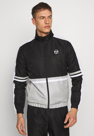 FELIX TRACKSUIT - Survêtement - black/dolphin grey/white