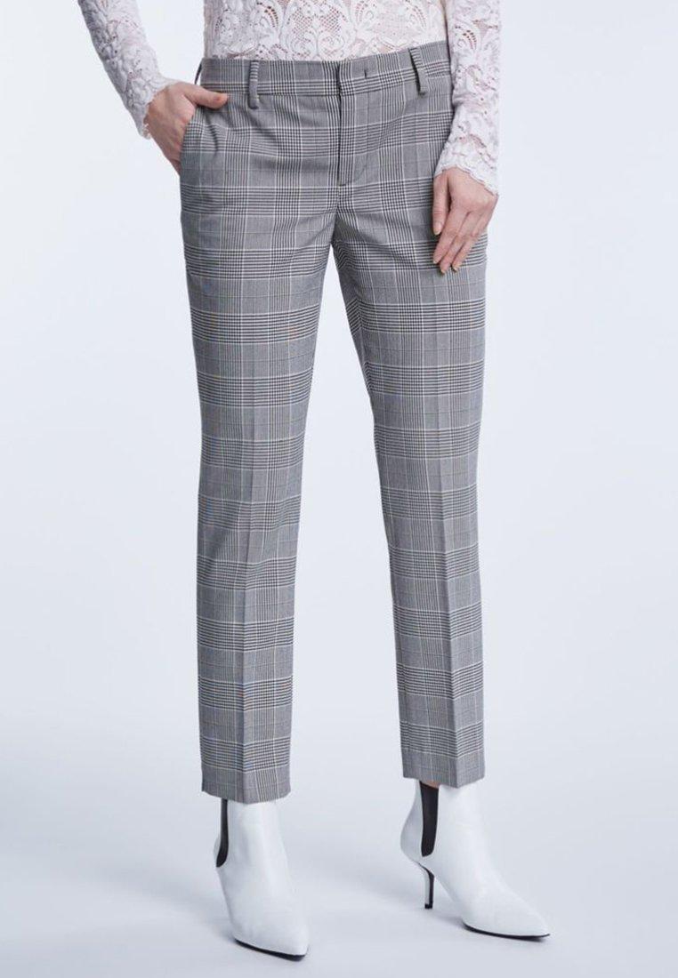SET - Pantalon classique - black white