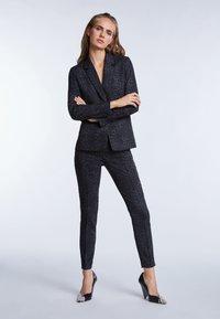 SET - Trousers - grey/black - 1