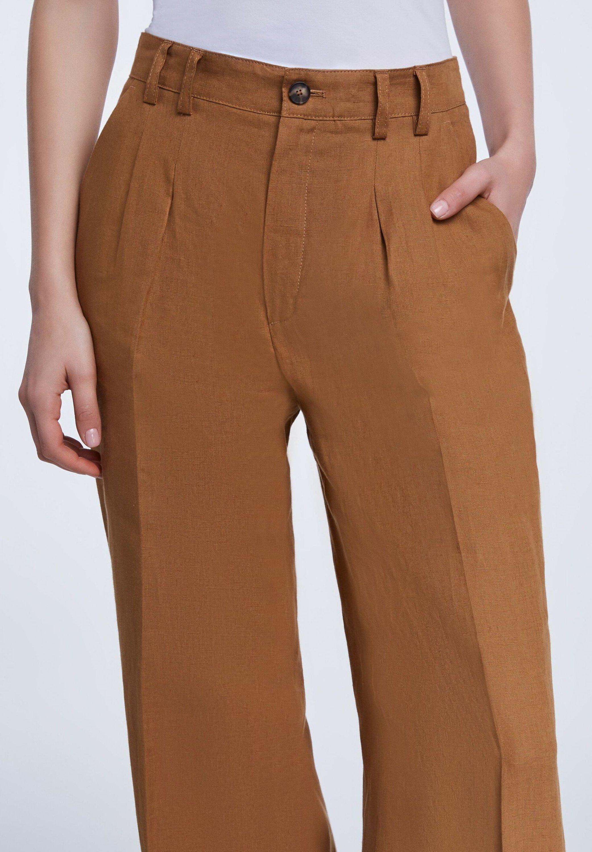 pantalon large zalando