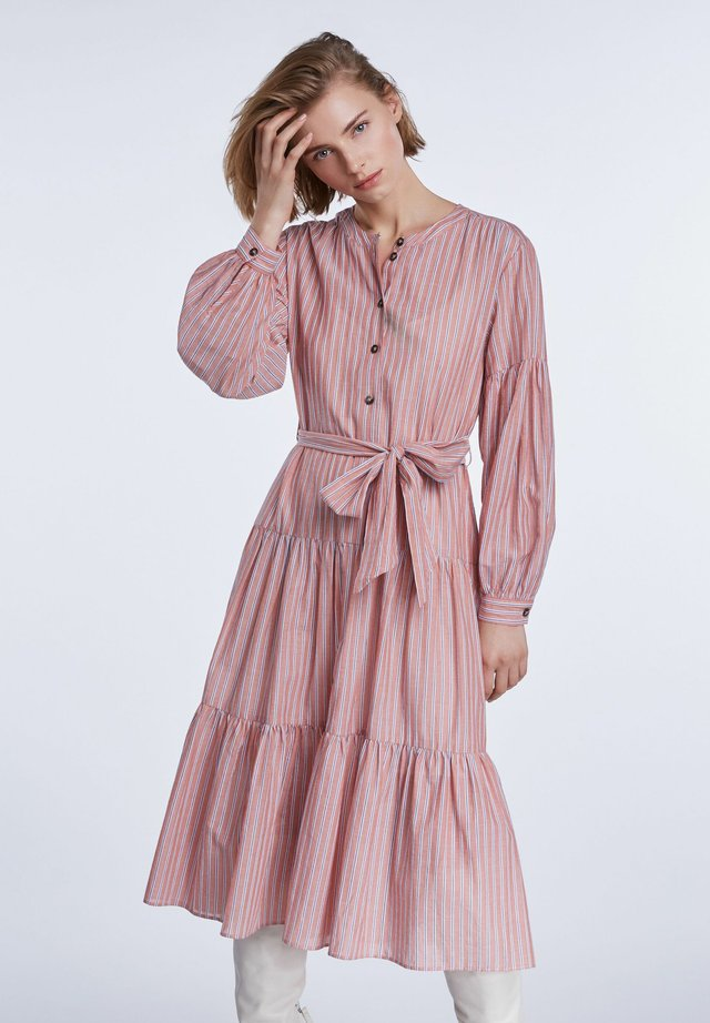 Korte jurk - pink blue