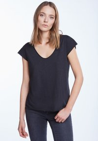SET - T-shirt basic - black - 0