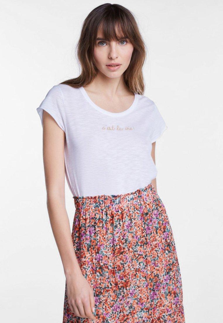 SET - T-shirt print - white