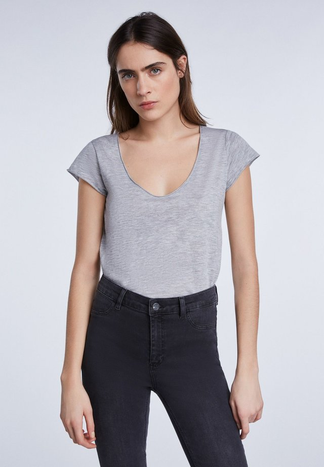 T-Shirt basic - light grey