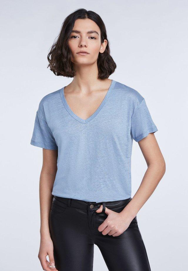 T-Shirt basic - dusty blue