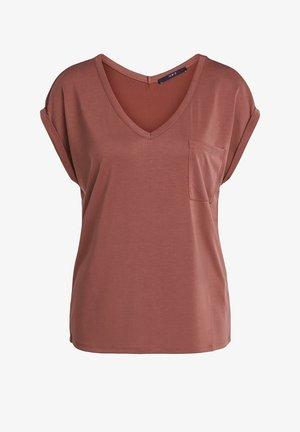 T-shirt basic - terracotta
