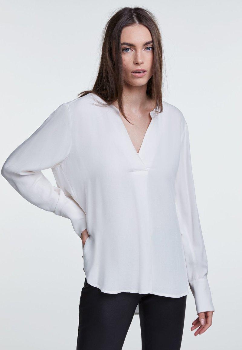 SET - Bluse - white
