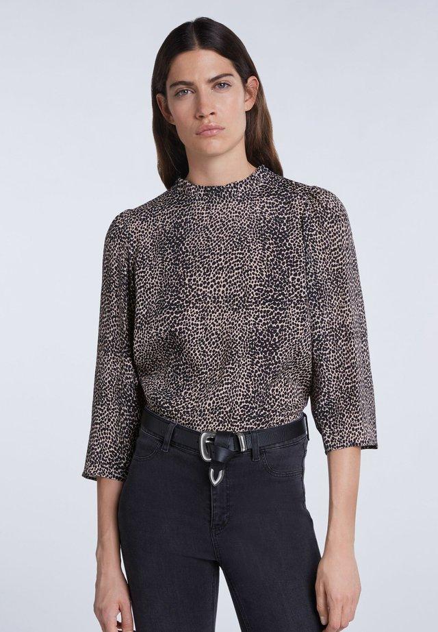 Bluse - light stone grey