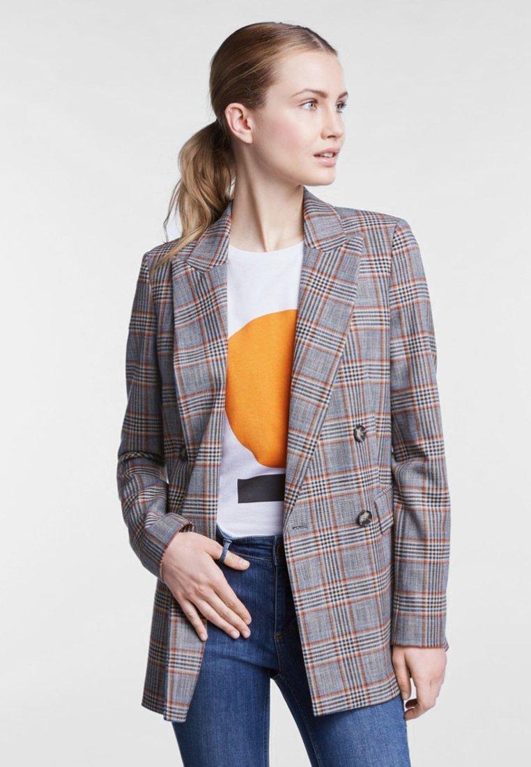 SET - Short coat - blue