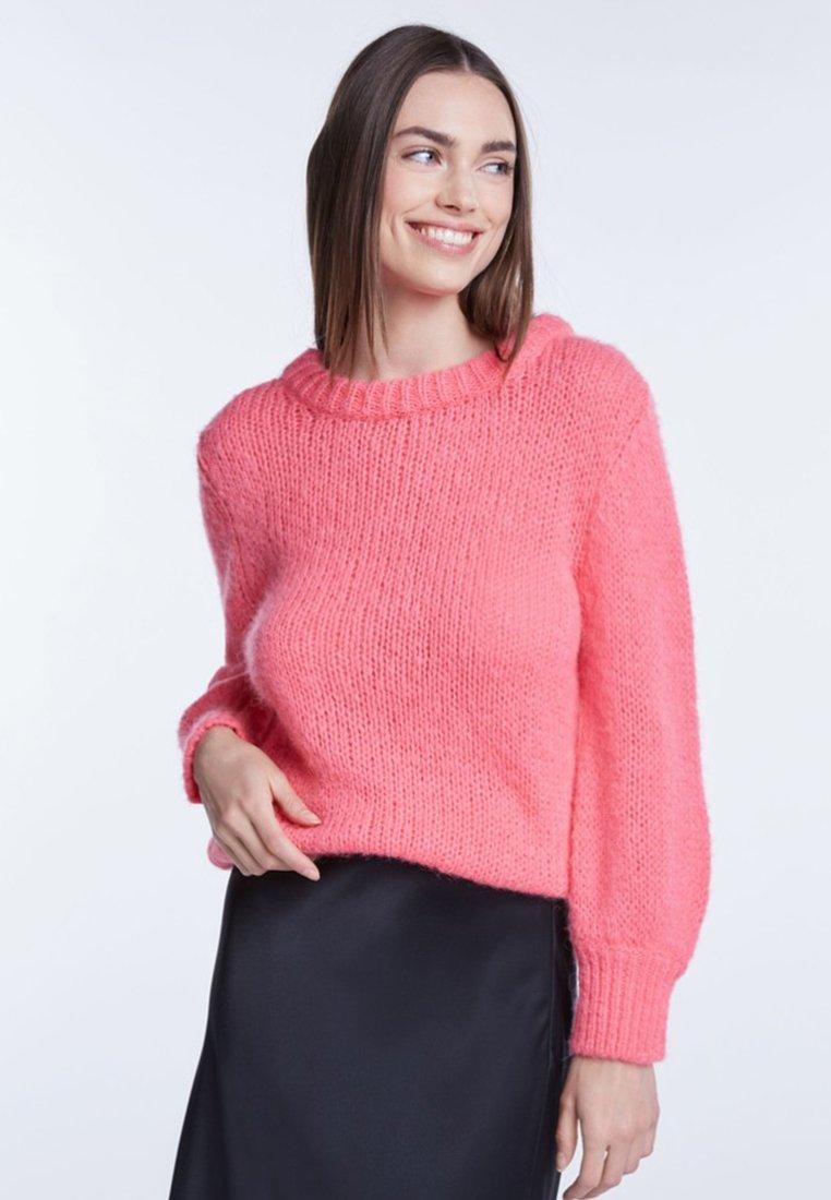 SET - Strickpullover - light pink