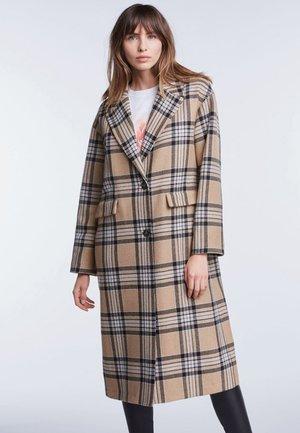 Classic coat - camel black