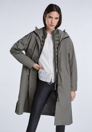 Short coat - khaki