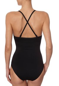 Seafolly - TWIST BANDEAU MAILLOT - Badedragter - black - 2