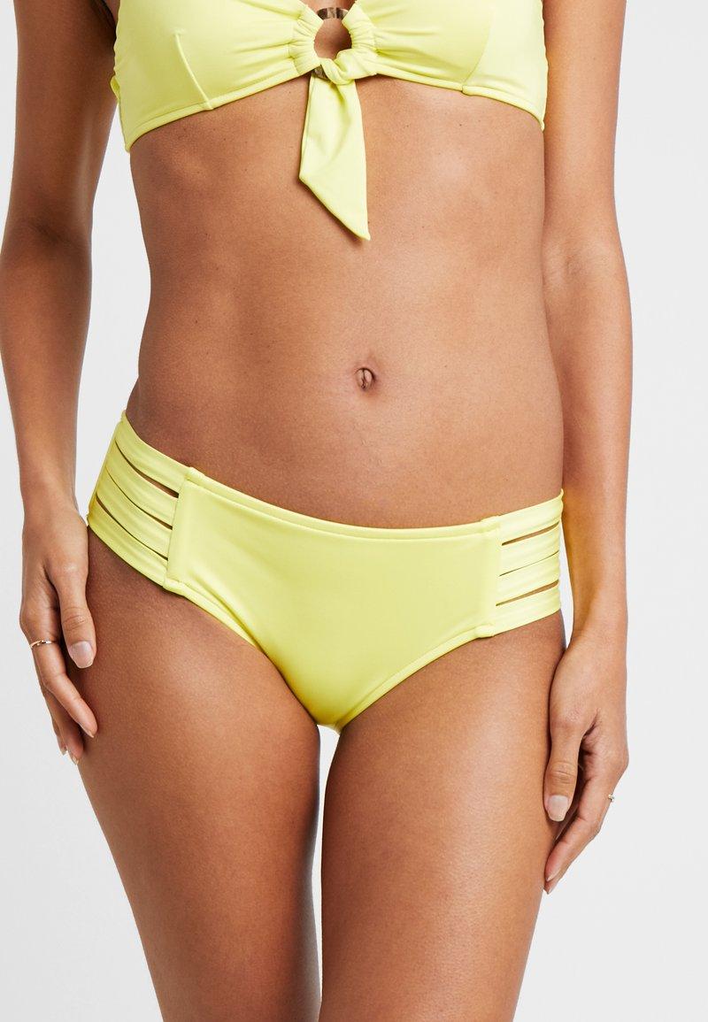 Seafolly - ACTIVE MULTI STRAP HIPSTER - Bikini bottoms - lime light