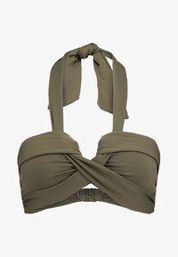 Seafolly - BANDEAU - Bikini-Top - dark olive - 3