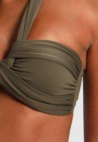 Seafolly - BANDEAU - Bikini-Top - dark olive - 4