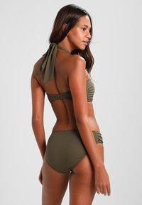 Seafolly - BANDEAU - Bikini-Top - dark olive - 2