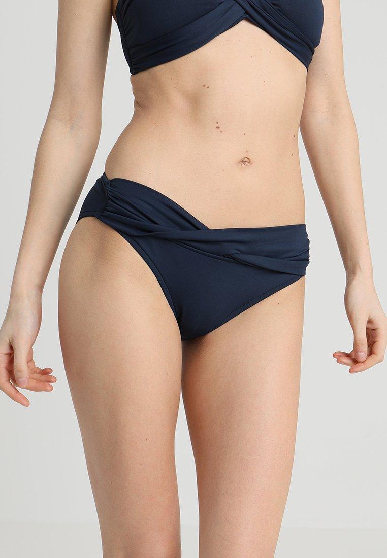 Seafolly - TWIST BAND HIPSTER - Bikini bottoms - indigo