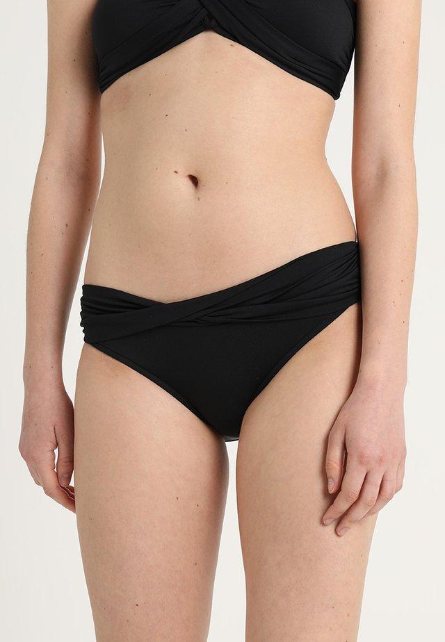 TWIST BAND HIPSTER - Bikini-Hose - noir